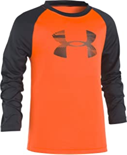 5d8c84dbb7 Amazon.com: Under Armour Boys' Speed Lines Big Logo Raglan: Clothing