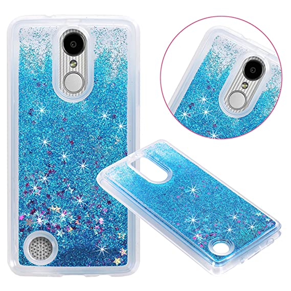 the best attitude 308a3 89899 LG Aristo (MS210) / LG LV3 / LG K8 2017 Cover Case, NOKEA Soft TPU Flowing  Liquid Floating Luxury Bling Glitter Sparkle Case Cover Fashion Design for  ...