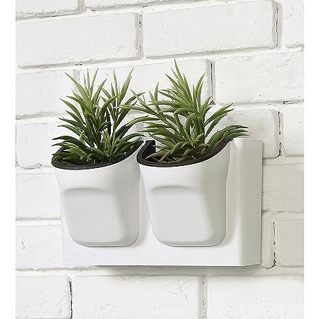 Amazon.com: Vertical Living Wall Planter for Indoor Outdoor Herb ...