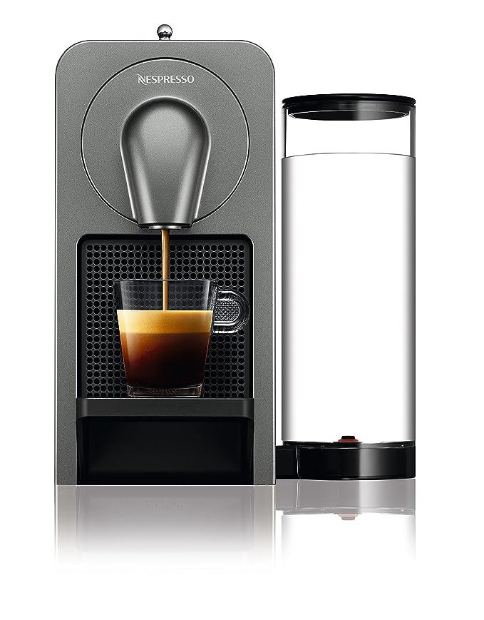 Nespresso Prodigio XN410T Cafetera de cápsulas de 19 bares, 3 programas de café y Conectividad Bluetooth con la App de Nesspreso, 1260 W, 1 Cups, ...