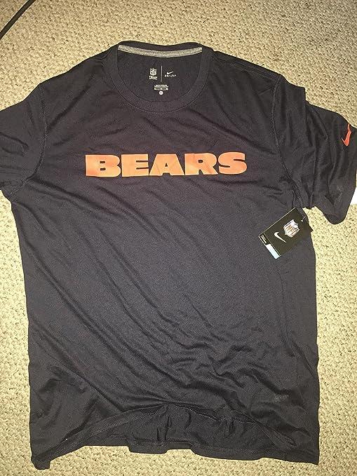 f856fe49 Amazon.com : Nike Chicago Bears Shirt Large : Sports & Outdoors
