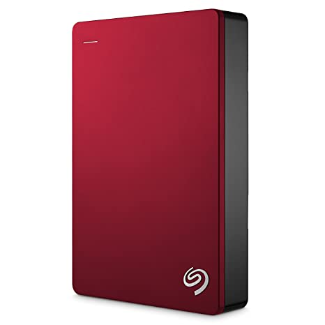 Seagate Backup Plus 4TB Portable External Hard Drive USB 3.0, Red (STDR4000303) External Hard Disks at amazon