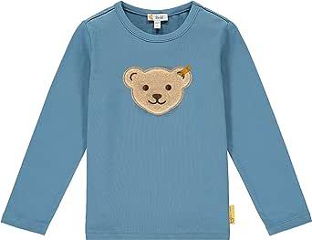 Steiff Mit Süßer teddybärapplikation Camiseta de Manga Larga para Niños