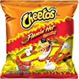 Cheetos Crunchy Flamin' Hot Cheese Flavored Snacks, 1 Ounce (Pack of 44)