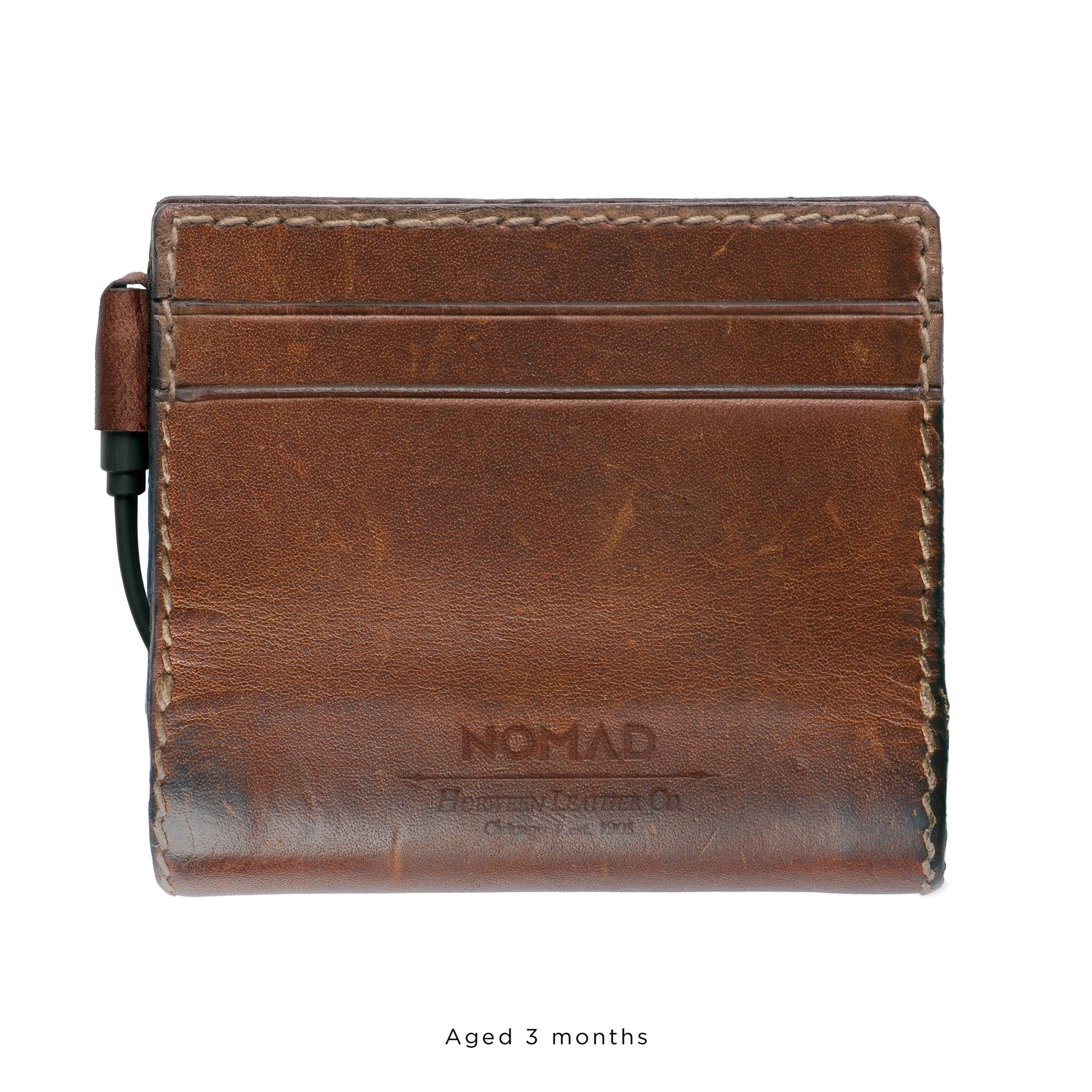 Nomad Slim Horween Leather Charging Wallet for iPhone by Nomad (Image #2)