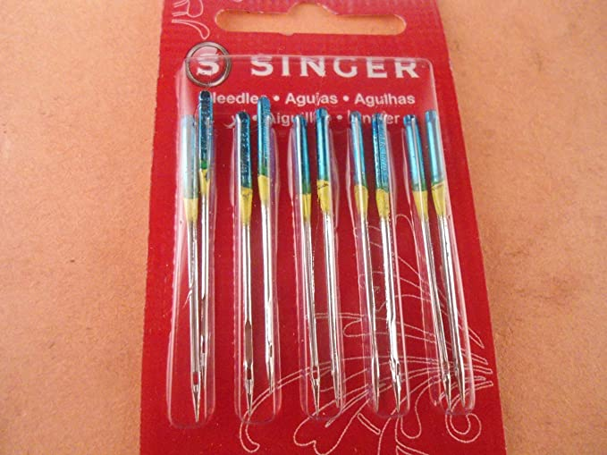 Singer Sewing Machine Agujas 110//18 Paquete de 10