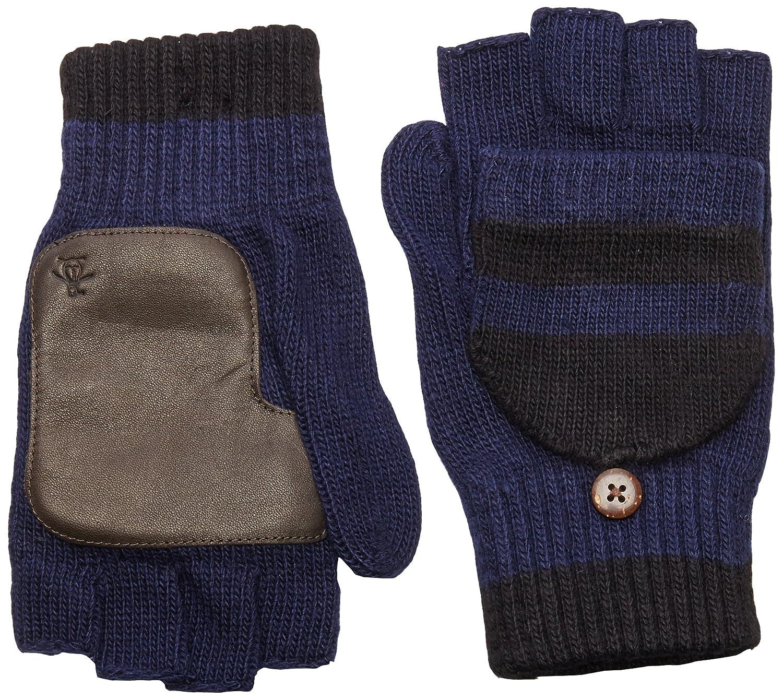 Original Penguin Men's Convertible Mittens Dark Sapphire One Size PNH0601