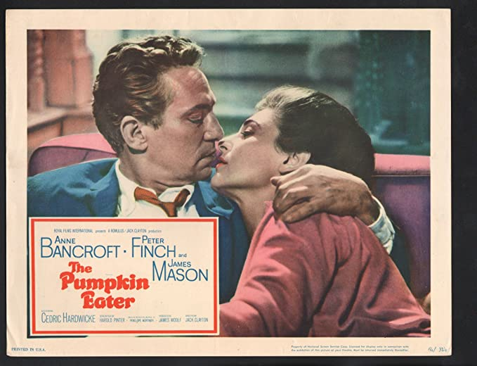 Amazon.com: MOVIE POSTER: Pumpkin Eater Lobby Card-1964-Anne ...