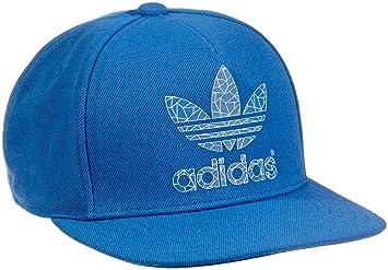 6e9a0d61dae adidas AC Fitted Cap - Bluebird White