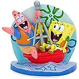 Penn Plax SpongeBob and Patrick on Buoy 3 in. Aquarium Figure