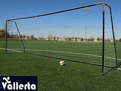 Amazon.com   Vallerta Premier Regulation Size Soccer Goals w ... ab40dd939