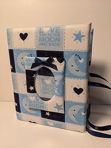 Shudehill Love You to The Moon Baby Boy Photo Album