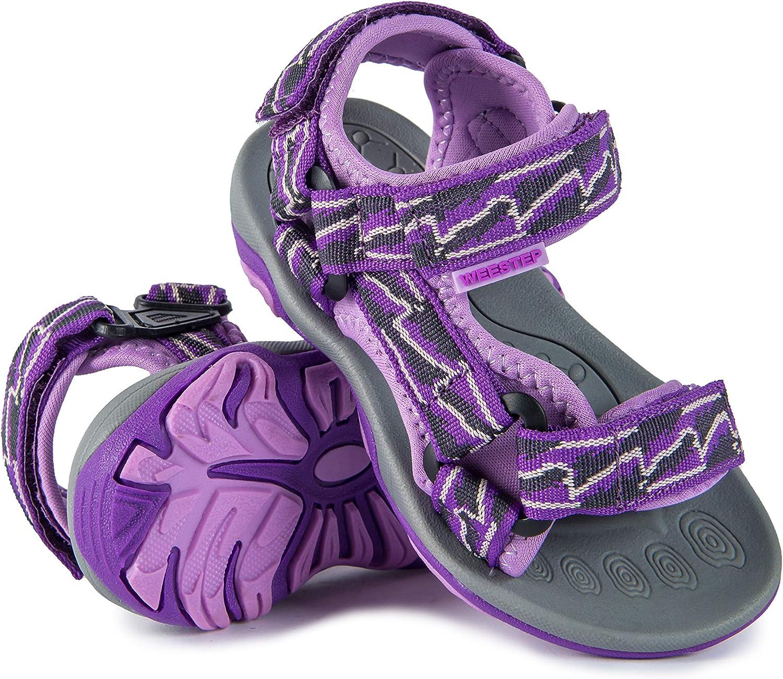 Weestep Toddler Little Kid Boys Girls Adjustable Strap Sandal