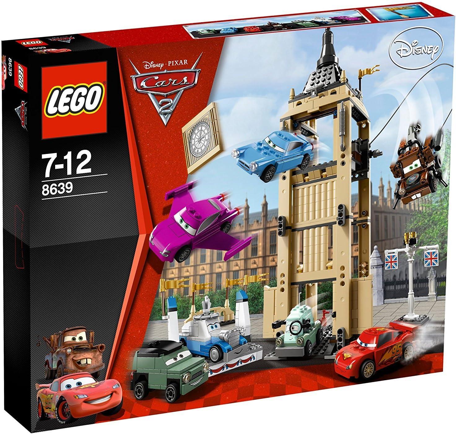 LEGO Cars 8639 - Incursión desde el Big Bentley (ref. 4590076)