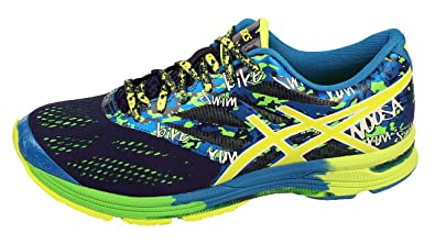 huge discount 1b03a 92b7e ASICS Men s Gel-Noosa Tri 10 Midnight, Flash Yellow and Flash Green Mesh  Triathlon