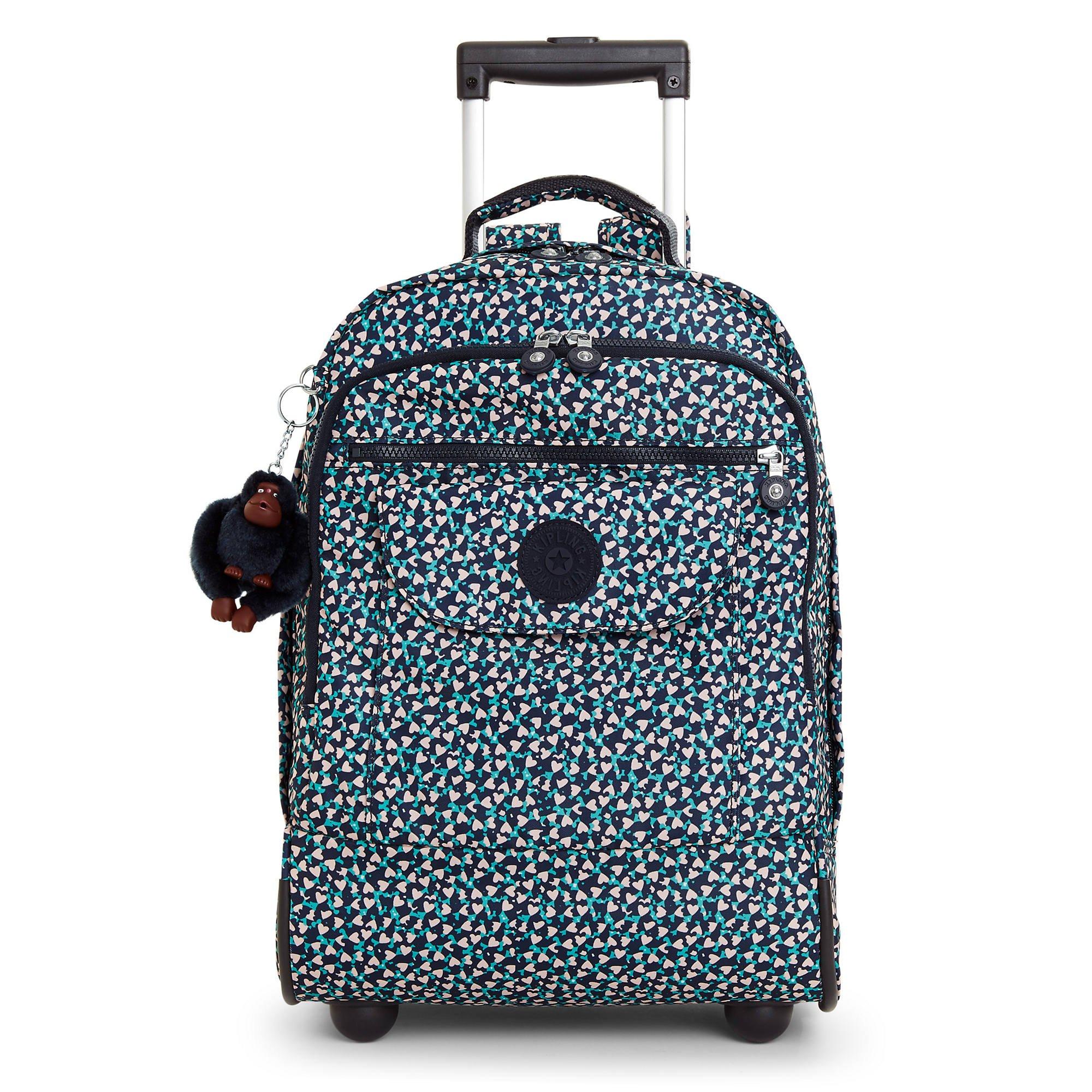 Kipling Women's Sanaa Large Printed Rolling Backpack One Size Think Spring