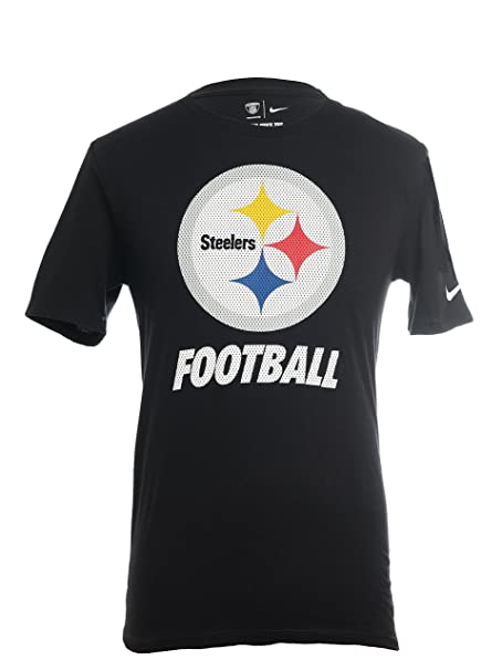 Nike Men s Pittsburgh Steelers Short-Sleeve Facility Tee Black Size Large d9c0b1feb