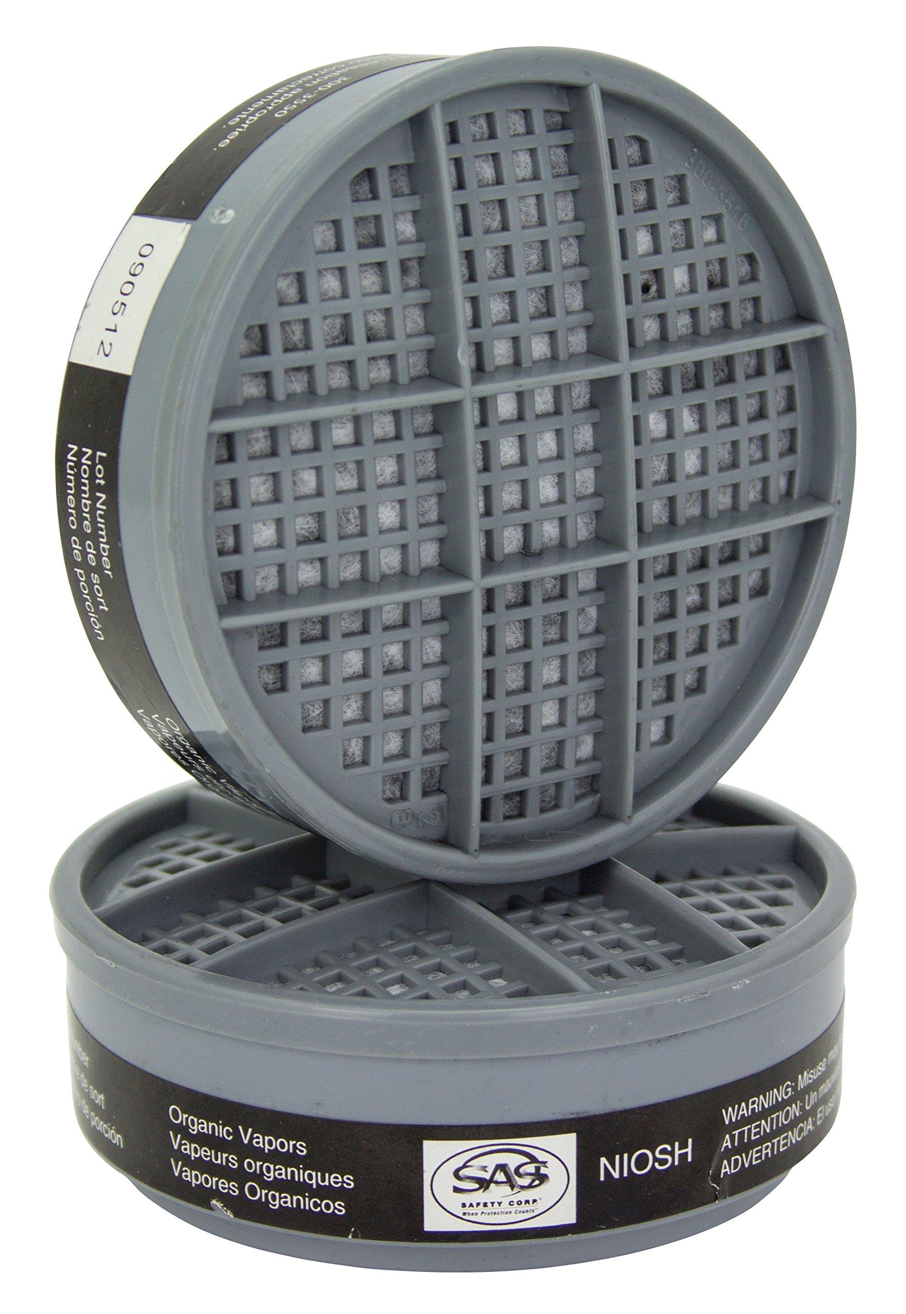SAS Safety 300-1001 BreatheMate Organic Vapor Cartridge (6 Pack)