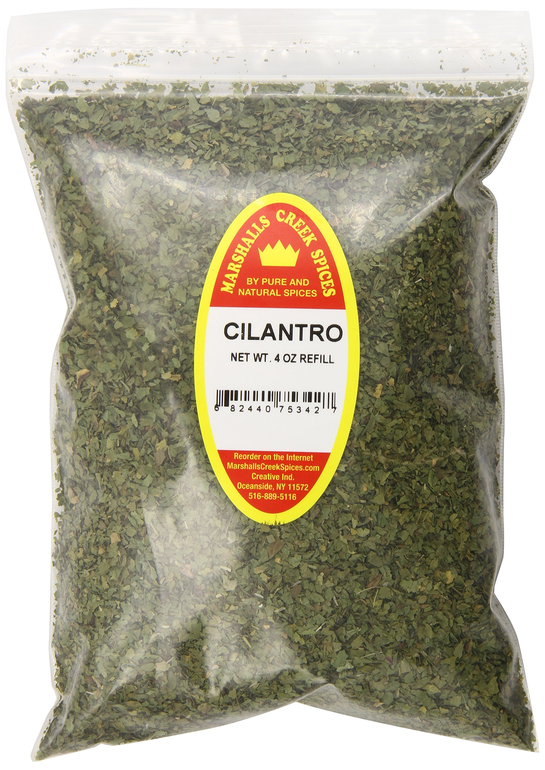 Marshalls Creek Spices X-Large Refill Cilantro, 4 Ounce by Marshall's Creek Spices (Image #1)