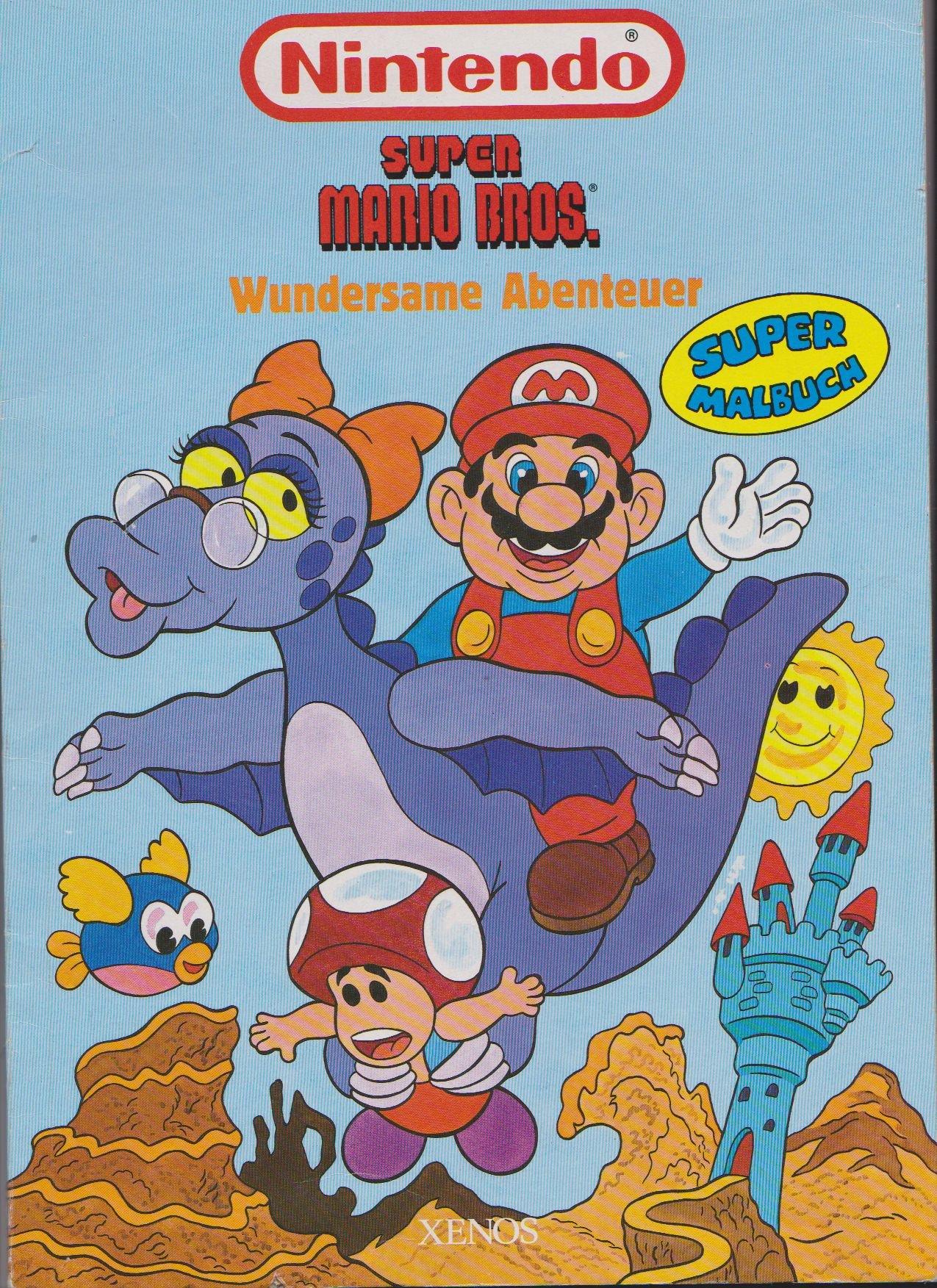 NINTENDO SNES: Super Mario Bros - Wundersame Abenteuer - Super ...