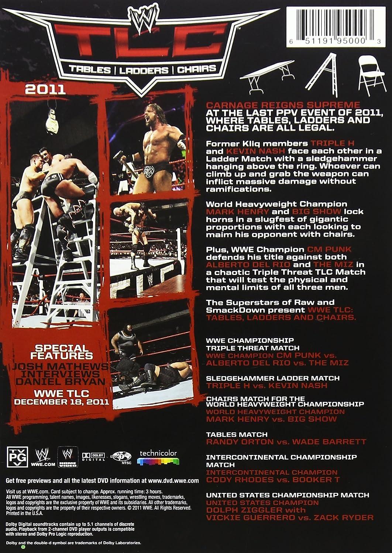 Wwe tables ladders and chairs 2013 poster - Amazon Com Wwe Tlc Tables Ladders Chairs 2011 John Cena Randy Orton Sheamus Christian Cm Punk Rey Mysterio Ablerto Del Rio Kofi Kingston