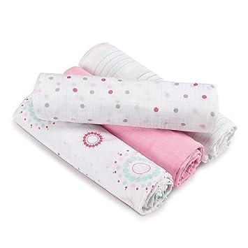 1779a6ec50f3 Amazon.com  aden by aden + anais Swaddle Baby Blanket