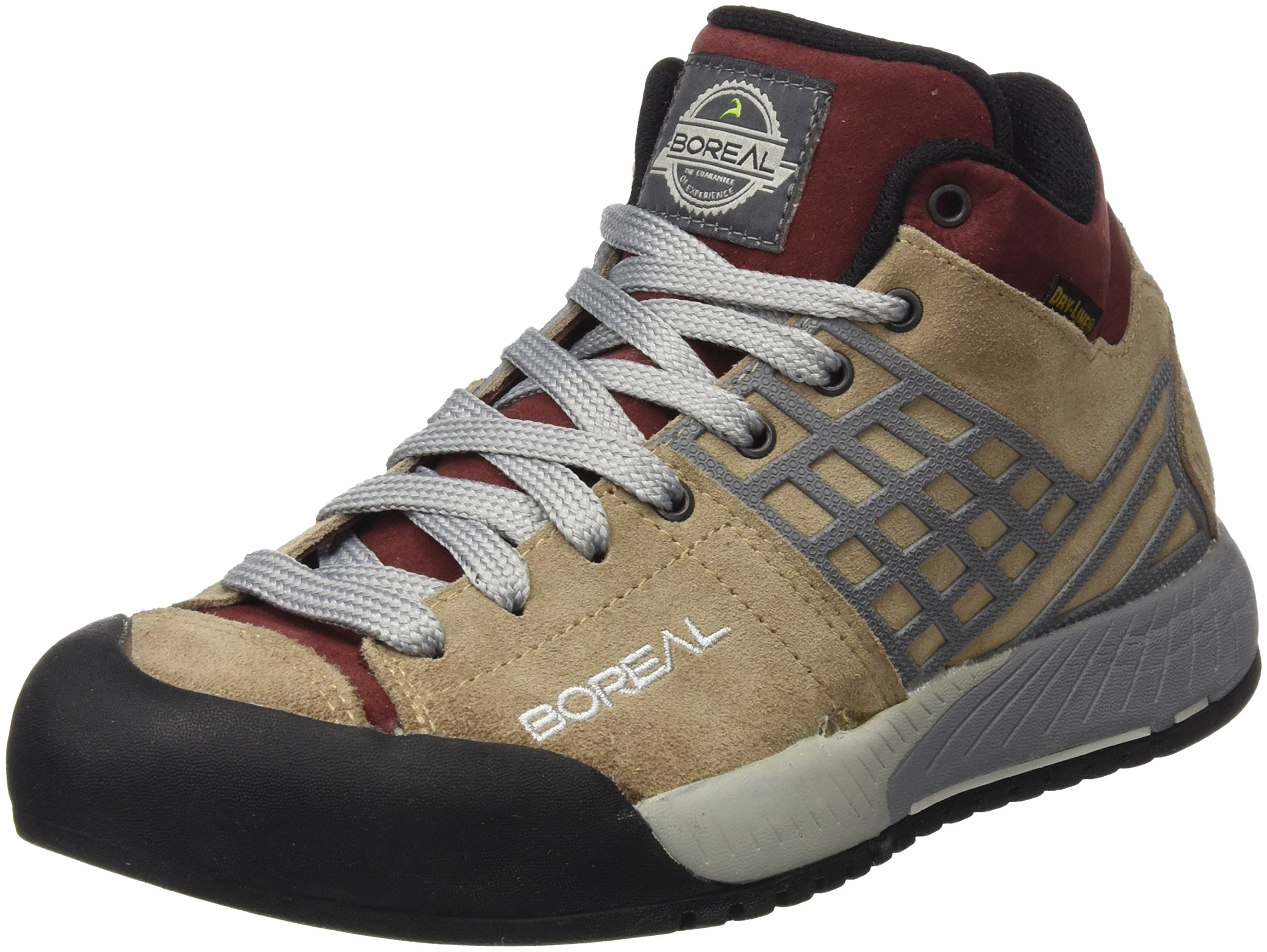 Boreal Athletic Shoes Womens Bamba Mid Lace Travel W 7.5 Beige 30453