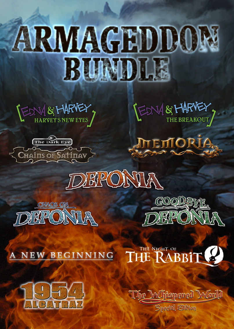 Daedalic Armageddon Bundle [Online Game Code] by Daedalic Entertainment