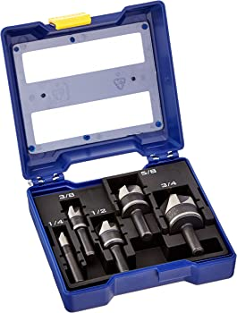 5-Piece IRWIN Metal Countersink Drill Bit Set