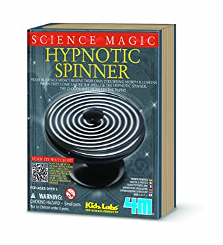 08e72ff88 4M Kidz Labs Science Magic Hypnotic Spinner, Magic Kits & Accessories -  Amazon Canada