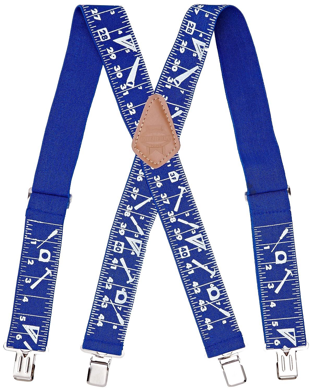 Faithfull BRACESTM Bretelles 5 cm Bleu (Import Grande Bretagne) FAIBRACESTM-TB