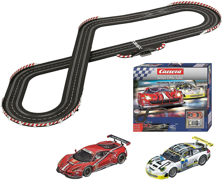 carrera digital 132  : Carrera Passion of Speed Digital Slot Car Racing Set ...
