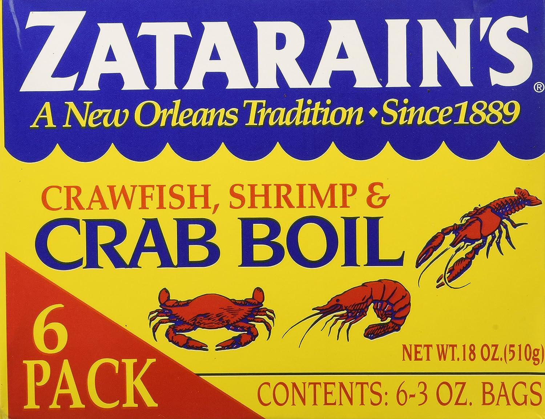 Zatarain S Crab Boil Six 3oz Bags Amazon Com Grocery Gourmet Food