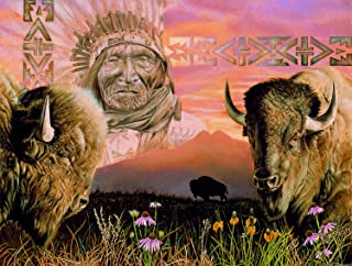 product image for Keeper of The Plains 500 Piece Jigsaw Puzzle by SunsOut