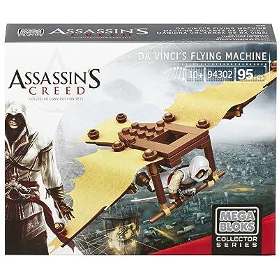 Mega Bloks Assassin's Creed Da Vinci's Flying Machine: Toys & Games