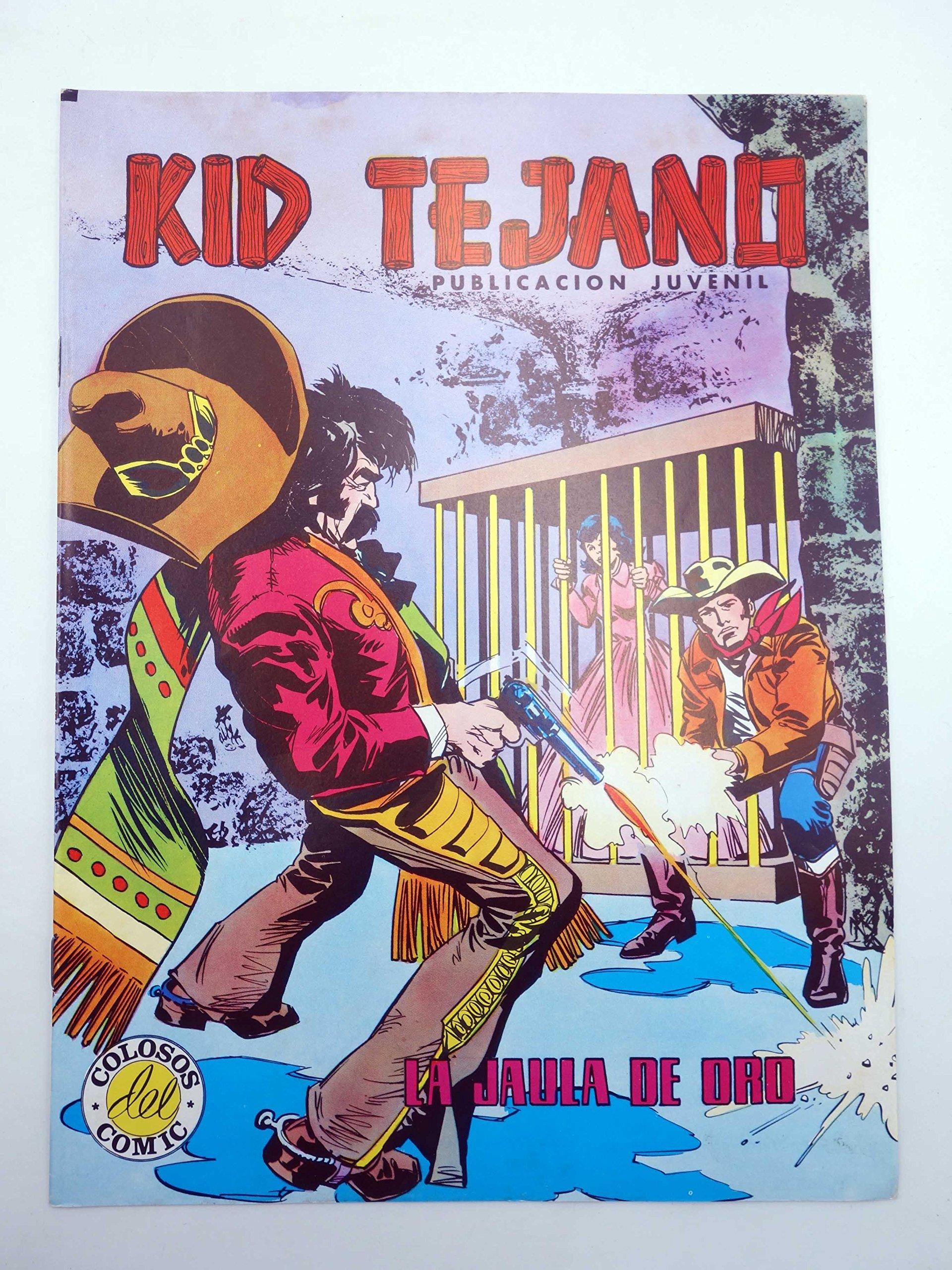 COLOSOS DEL COMIC 122. Kid Tejano 25. La Jaula De Oro: Amazon.es ...