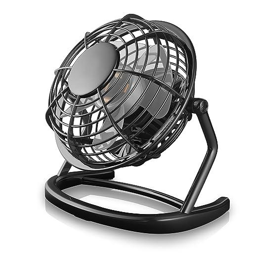 637 opinioni per CSL- Ventilatore USB | ventilatore da tavolo / ventola | PC / notebook | in nero
