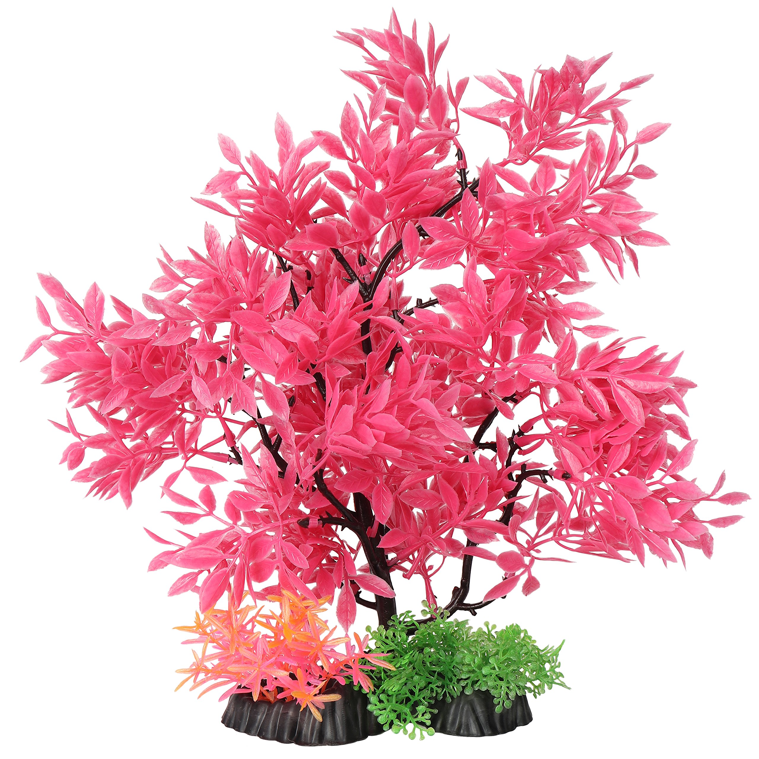 Amazon price history for Aquarium Decoration Artificial Pink Plastic Plants with Beautiful Natural Look