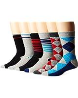 Ben Sherman Men's 6-Pack Ben Crew Socks