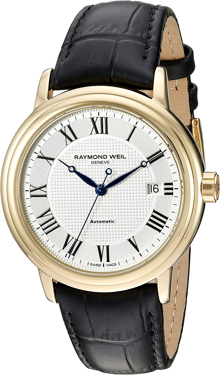 Raymond Weil Men s 2837-Pc-00659 Automatic Stainless Steel Silver Dial Watch