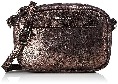 Damen Ava Crossbody Bag Umhängetasche, (Black Comb.), 5x14x20 cm Tamaris
