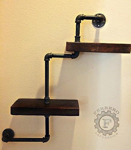 Amazon.com: England Shelf, Steampunk Shelf, Wall Shelves, Steampunk ...