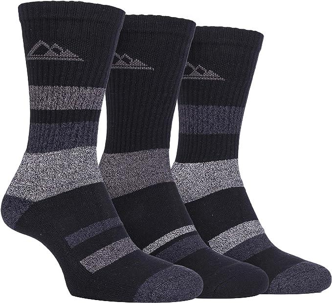 3 pares calcetines con suela acolchada para señora, antiampollas ...
