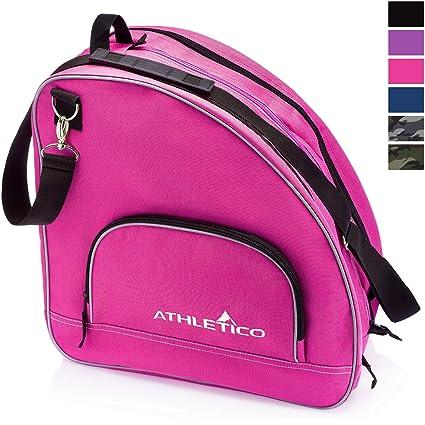 Athletico Ice Skate/Inline - Bolsa para skate, rosa: Amazon ...