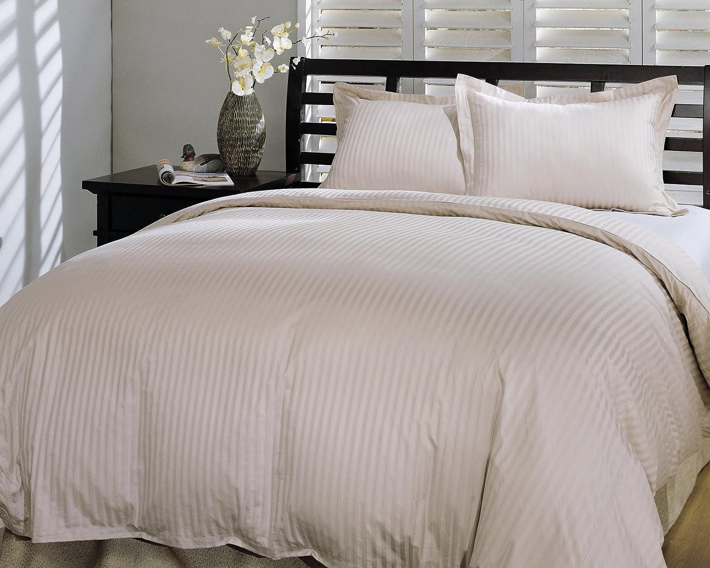 Amazon.com: Royal Luxe Unisex Damask Stripe White Down Comforter King White:  Home U0026 Kitchen