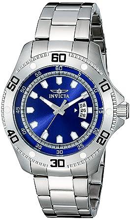 Invicta Mens 19264 Pro Diver Analog Display Japanese Quartz Silver Watch