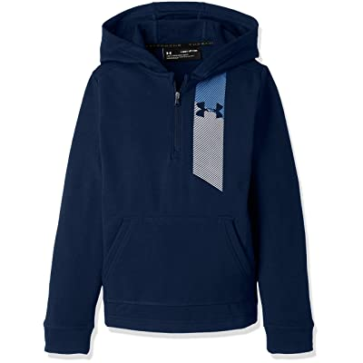 Under Armour Boys' Microthread Terry ½ Zip Hoodie