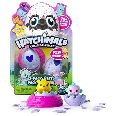 Hatchimals 6034164 Colleggtibles with Nest Playset (Pack of 2): Home & Kitchen