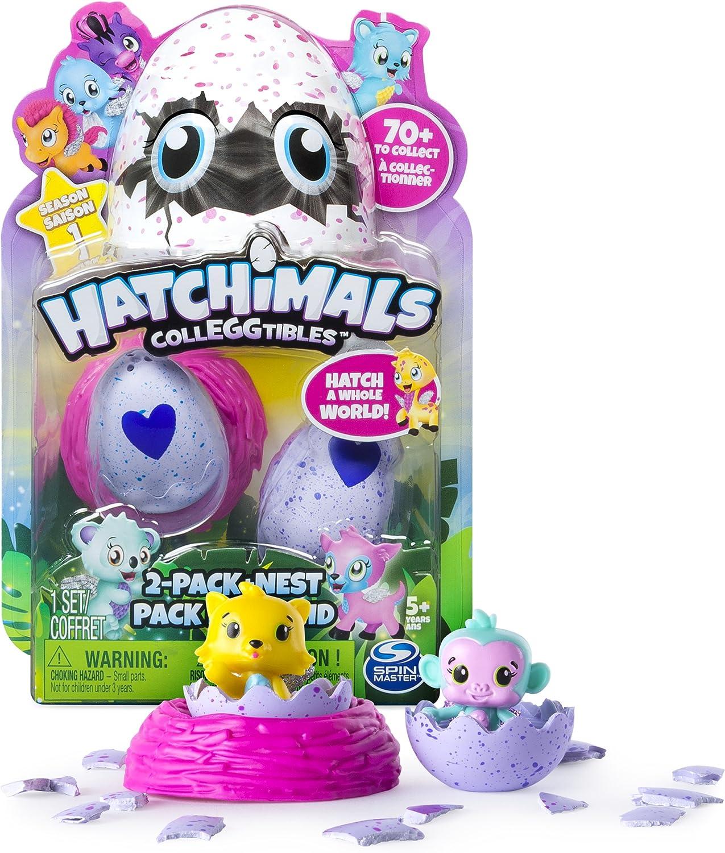 Hatchimals colleggtibles Royal Tratteggio due pacchetti 4 uova nuovi bambini giocattolo D6