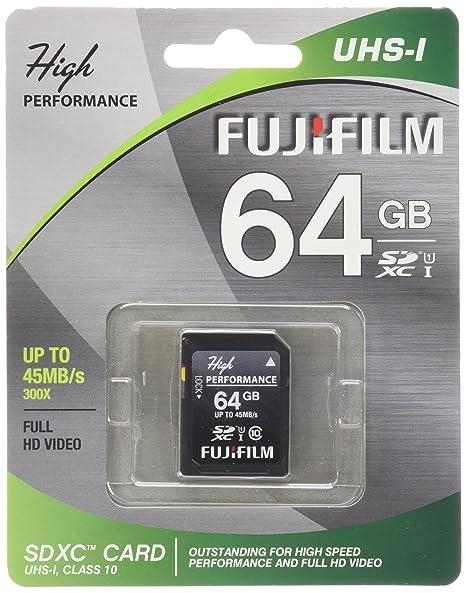 Amazon.com: Fujifilm High Performance - Flash Memory Card ...